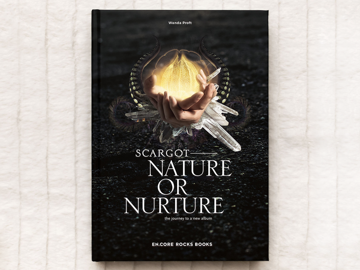 EN.CORE ROCKS BOOKS: SCARGOT—NATURE OR NURTURE—the journey to a new album, pages